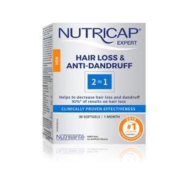 Nutricap Hair Loss and Anti dandruff / 2in1